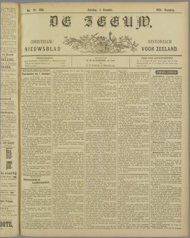 De Zeeuw. Christelijk-historisch nieuwsblad voor Zeeland 1896-12-05