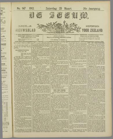 De Zeeuw. Christelijk-historisch nieuwsblad voor Zeeland 1912-03-23