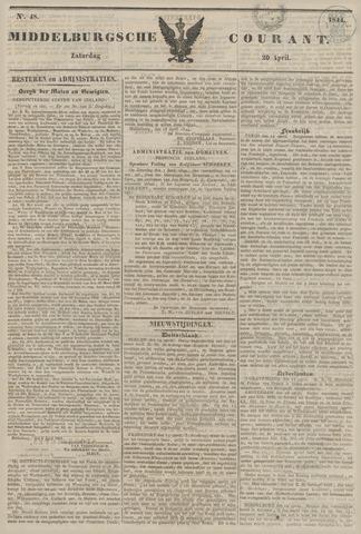 Middelburgsche Courant 1844-04-20