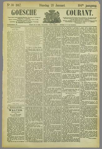 Goessche Courant 1917-01-23