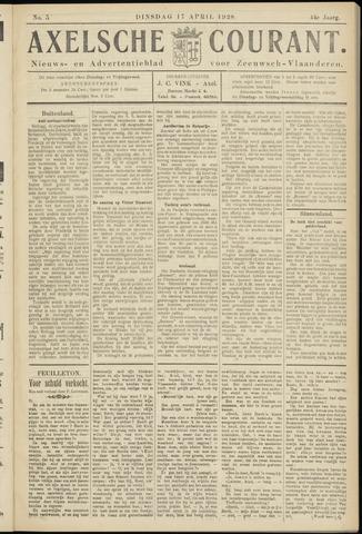 Axelsche Courant 1928-04-17