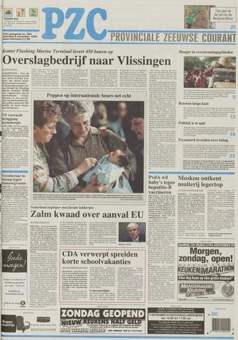 Provinciale Zeeuwse Courant 1999-11-06