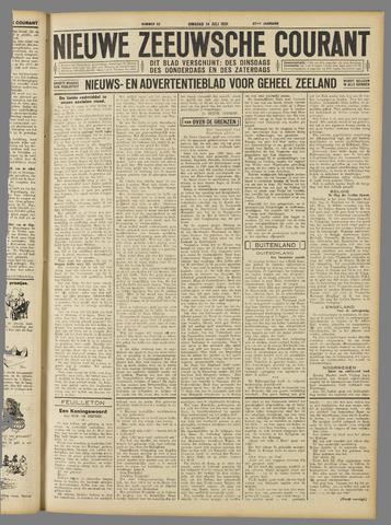 Nieuwe Zeeuwsche Courant 1931-07-14