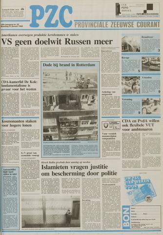 Provinciale Zeeuwse Courant 1992-01-27