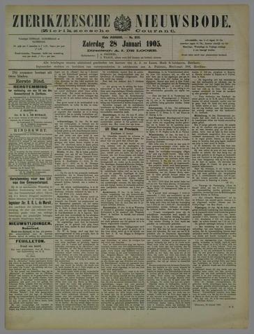 Zierikzeesche Nieuwsbode 1905-01-28