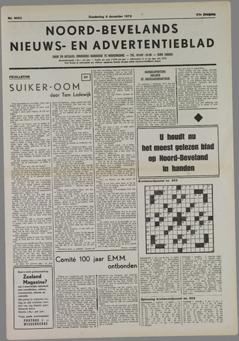 Noord-Bevelands Nieuws- en advertentieblad 1979-12-06