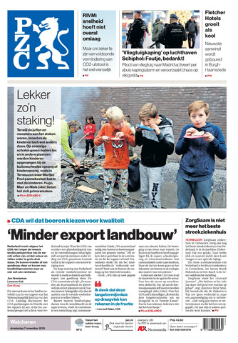 Provinciale Zeeuwse Courant 2019-11-07
