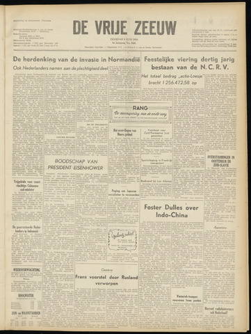 de Vrije Zeeuw 1954-06-08