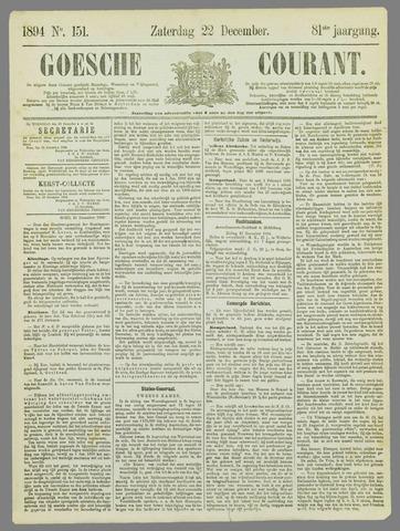 Goessche Courant 1894-12-22