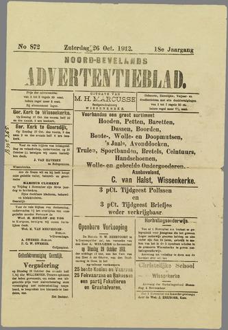 Noord-Bevelands Nieuws- en advertentieblad 1912-10-26
