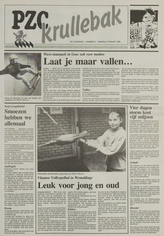 Provinciale Zeeuwse Courant katern Krullenbak (1981-1999) 1990-03-13