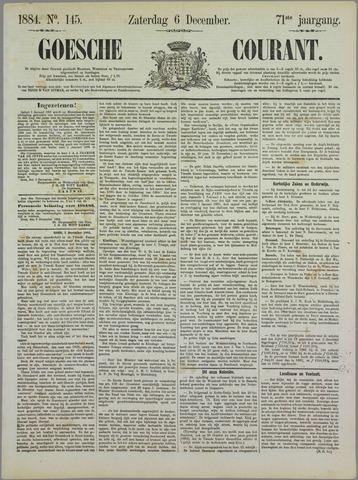 Goessche Courant 1884-12-06