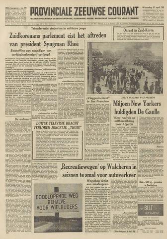 Provinciale Zeeuwse Courant 1960-04-27