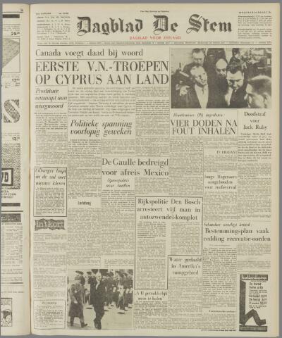 de Stem 1964-03-16