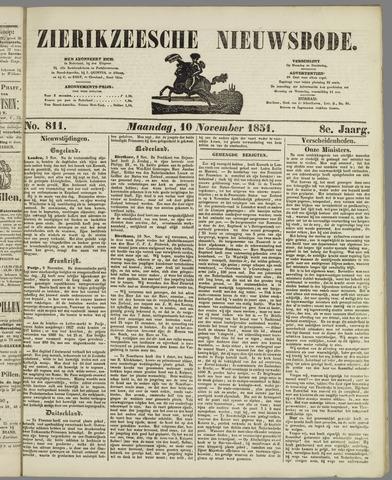 Zierikzeesche Nieuwsbode 1851-11-10
