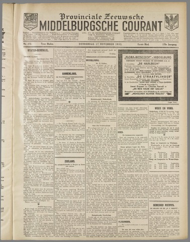 Middelburgsche Courant 1932-11-17