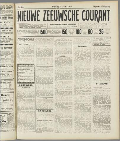 Nieuwe Zeeuwsche Courant 1913-06-03