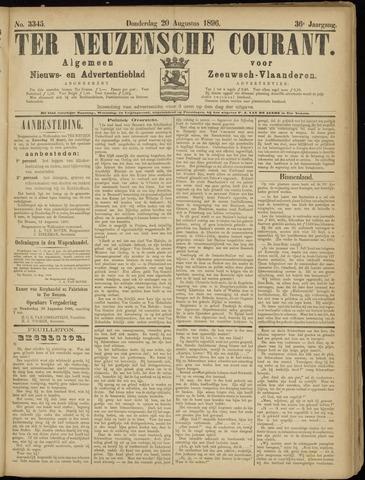 Ter Neuzensche Courant. Algemeen Nieuws- en Advertentieblad voor Zeeuwsch-Vlaanderen / Neuzensche Courant ... (idem) / (Algemeen) nieuws en advertentieblad voor Zeeuwsch-Vlaanderen 1896-08-20