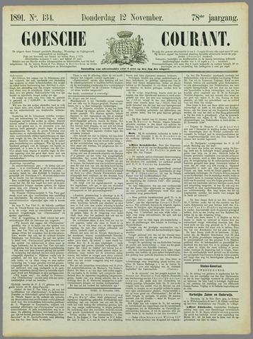 Goessche Courant 1891-11-12