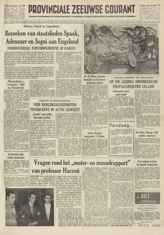 Provinciale Zeeuwse Courant 1959-10-30
