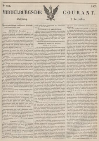 Middelburgsche Courant 1869-11-06