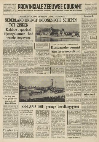 Provinciale Zeeuwse Courant 1962-01-16