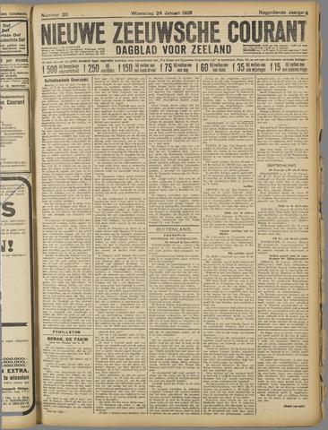 Nieuwe Zeeuwsche Courant 1923-01-24