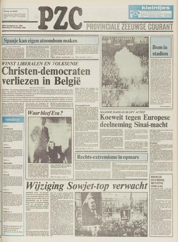 Provinciale Zeeuwse Courant 1981-11-09
