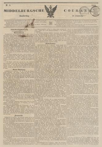 Middelburgsche Courant 1844-01-11