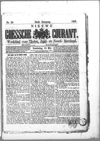 Nieuwe Goessche Courant 1868-05-14