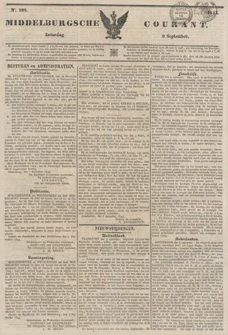 Middelburgsche Courant 1843-09-09