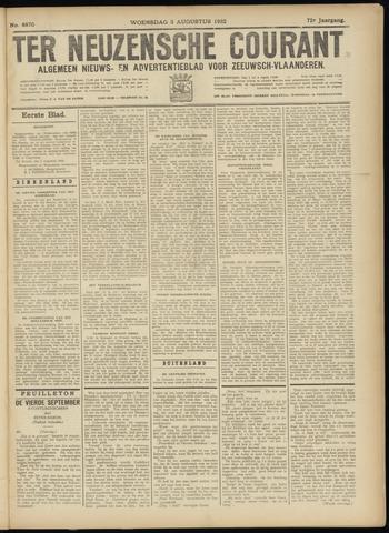Ter Neuzensche Courant. Algemeen Nieuws- en Advertentieblad voor Zeeuwsch-Vlaanderen / Neuzensche Courant ... (idem) / (Algemeen) nieuws en advertentieblad voor Zeeuwsch-Vlaanderen 1932-08-03