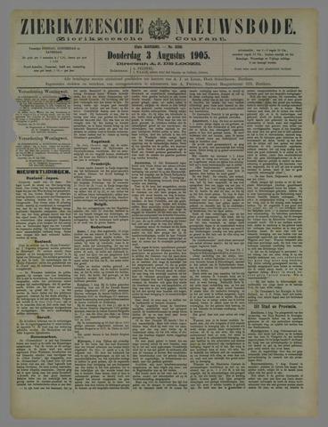 Zierikzeesche Nieuwsbode 1905-08-03