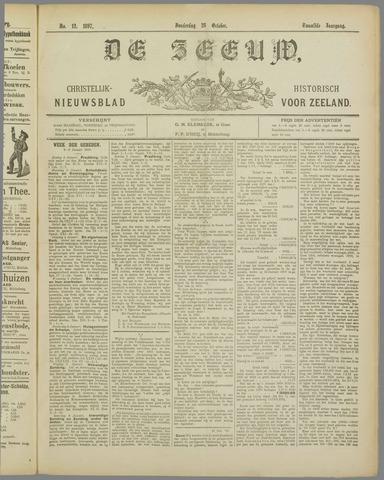 De Zeeuw. Christelijk-historisch nieuwsblad voor Zeeland 1897-10-28