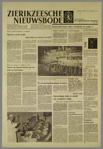 Zierikzeesche Nieuwsbode 1962-04-20