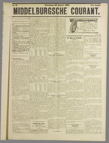 Middelburgsche Courant 1927-03-22