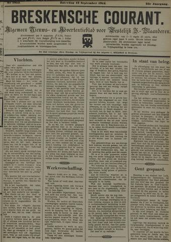 Breskensche Courant 1914-09-12