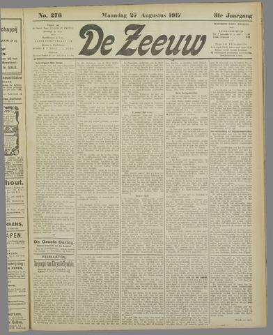 De Zeeuw. Christelijk-historisch nieuwsblad voor Zeeland 1917-08-27