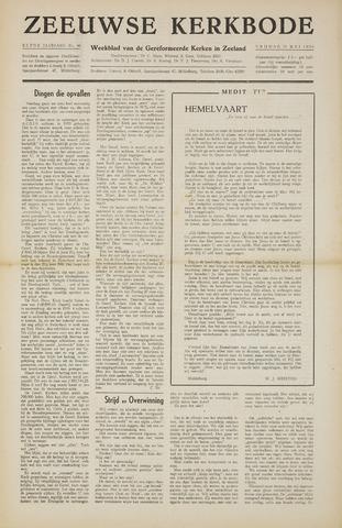 Zeeuwsche kerkbode, weekblad gewijd aan de belangen der gereformeerde kerken/ Zeeuwsch kerkblad 1956-05-11