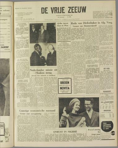 de Vrije Zeeuw 1960-09-27