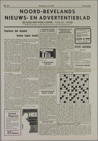 Noord-Bevelands Nieuws- en advertentieblad 1985-05-23