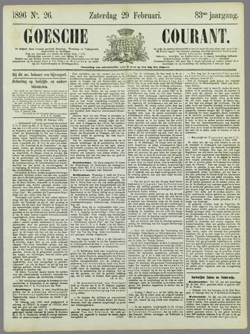 Goessche Courant 1896-02-29