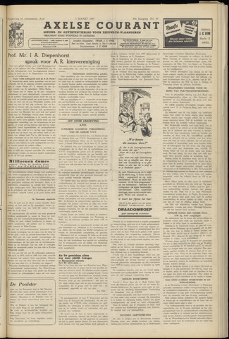 Axelsche Courant 1955-03-05
