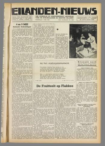 Eilanden-nieuws. Christelijk streekblad op gereformeerde grondslag 1949-05-04