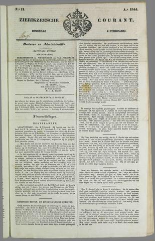 Zierikzeesche Courant 1844-02-06