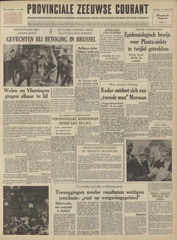 Provinciale Zeeuwse Courant 1962-10-15