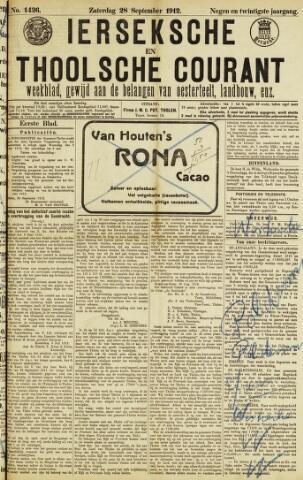 Ierseksche en Thoolsche Courant 1912-09-28