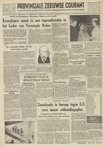 Provinciale Zeeuwse Courant 1958-07-24
