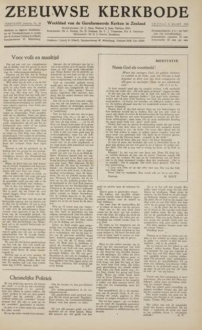 Zeeuwsche kerkbode, weekblad gewijd aan de belangen der gereformeerde kerken/ Zeeuwsch kerkblad 1959-03-06