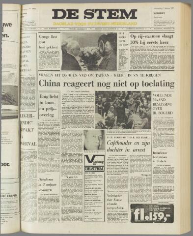 de Stem 1971-10-27